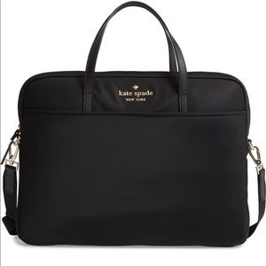Kate Spade uni slim laptop commuter bag